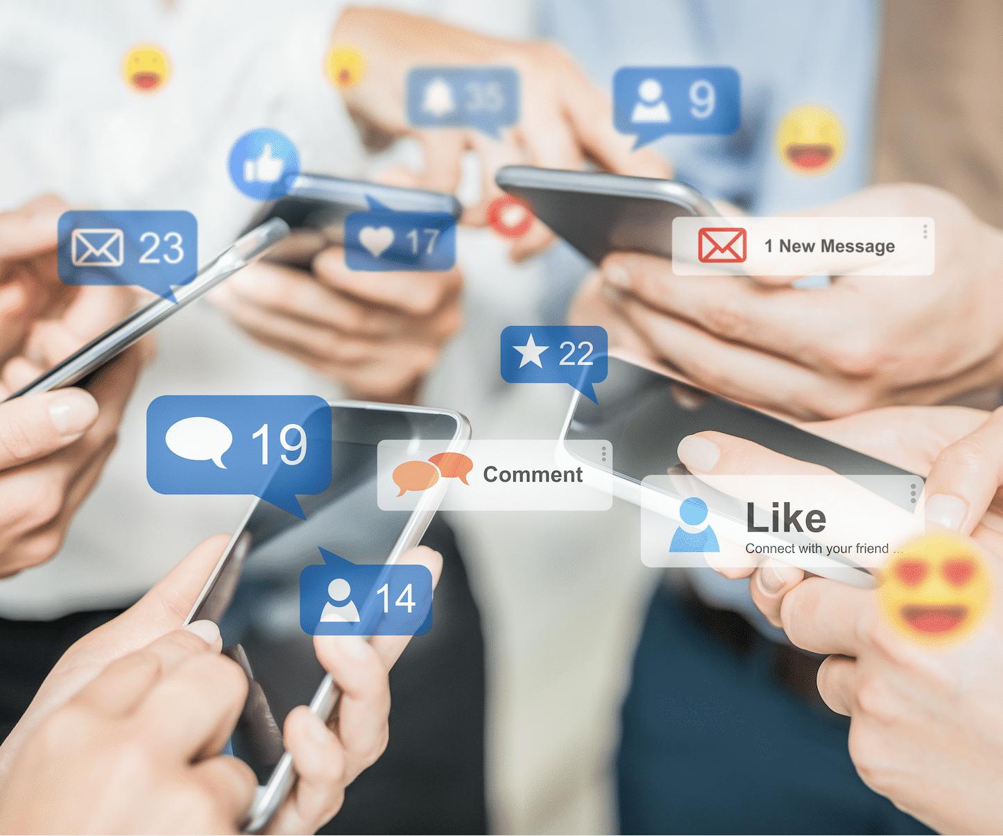 Social Media Kliniken
